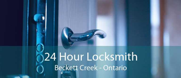 24 Hour Locksmith Beckett Creek - Ontario