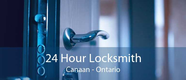 24 Hour Locksmith Canaan - Ontario