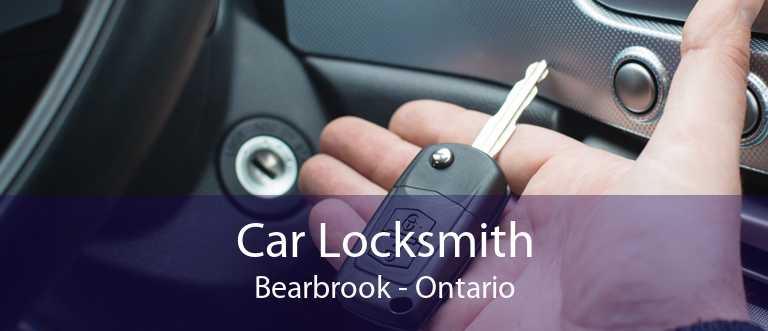 Car Locksmith Bearbrook - Ontario