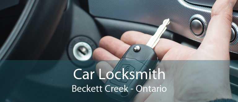 Car Locksmith Beckett Creek - Ontario