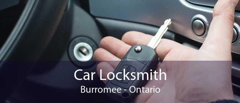 Car Locksmith Burromee - Ontario