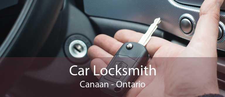 Car Locksmith Canaan - Ontario