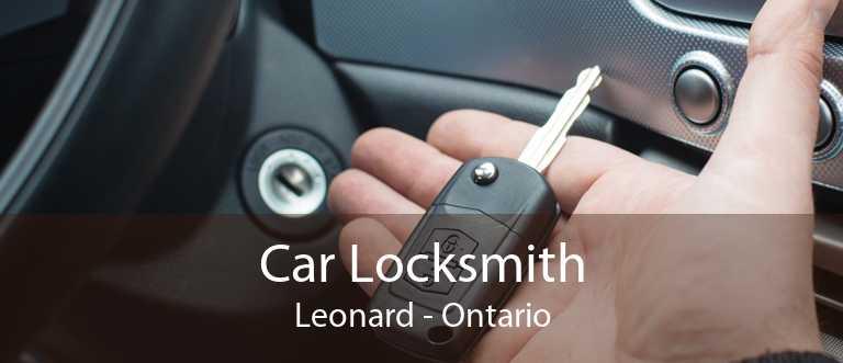 Car Locksmith Leonard - Ontario