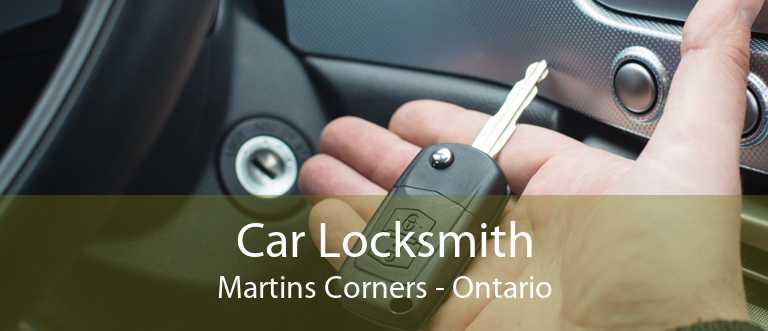 Car Locksmith Martins Corners - Ontario