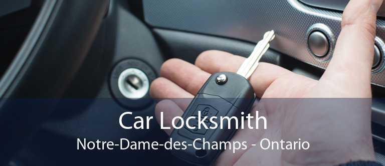 Car Locksmith Notre-Dame-des-Champs - Ontario