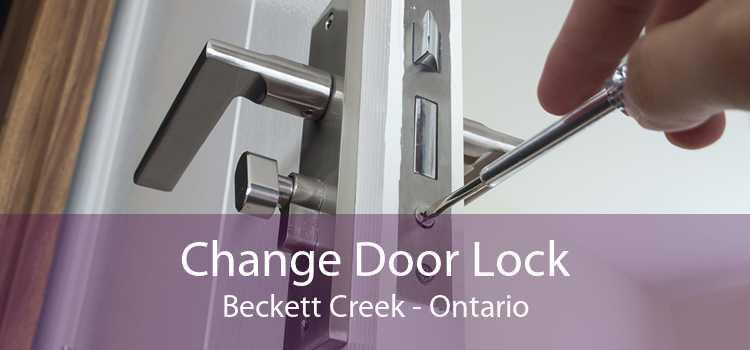 Change Door Lock Beckett Creek - Ontario