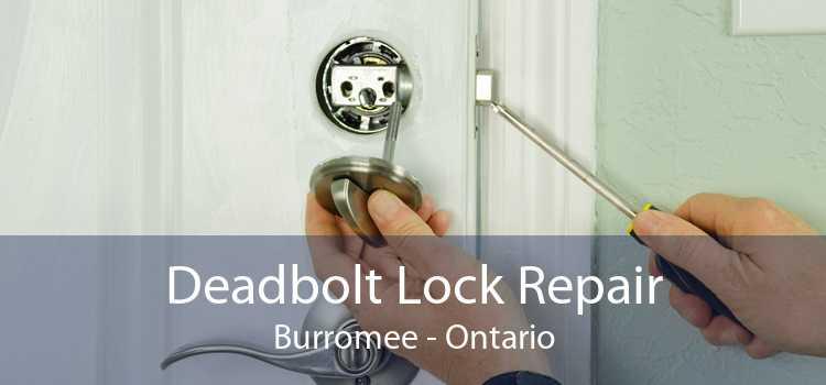 Deadbolt Lock Repair Burromee - Ontario