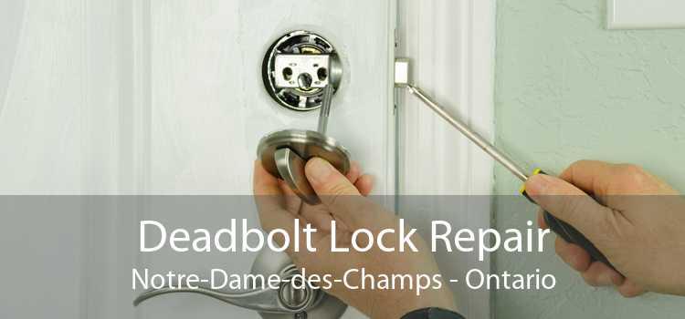 Deadbolt Lock Repair Notre-Dame-des-Champs - Ontario
