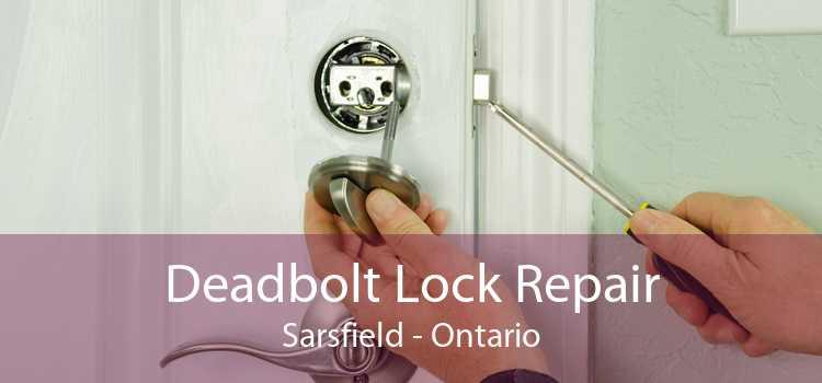Deadbolt Lock Repair Sarsfield - Ontario