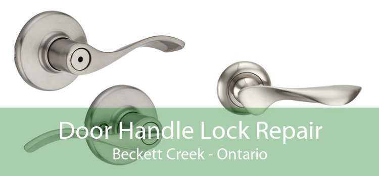 Door Handle Lock Repair Beckett Creek - Ontario