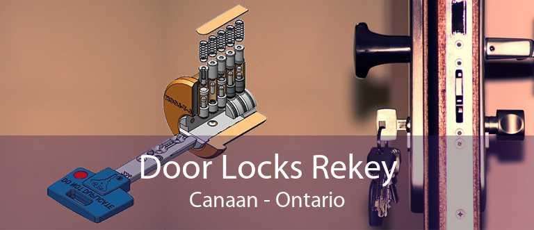 Door Locks Rekey Canaan - Ontario