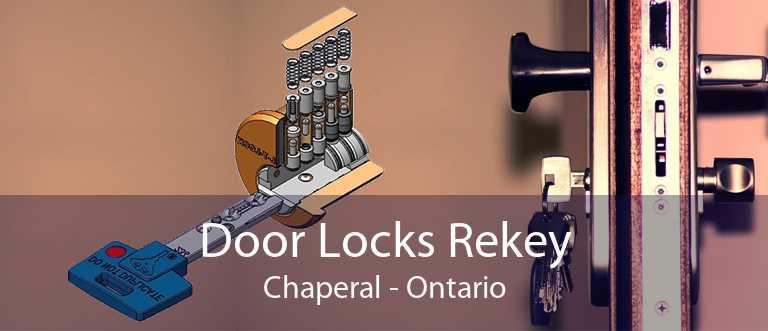 Door Locks Rekey Chaperal - Ontario