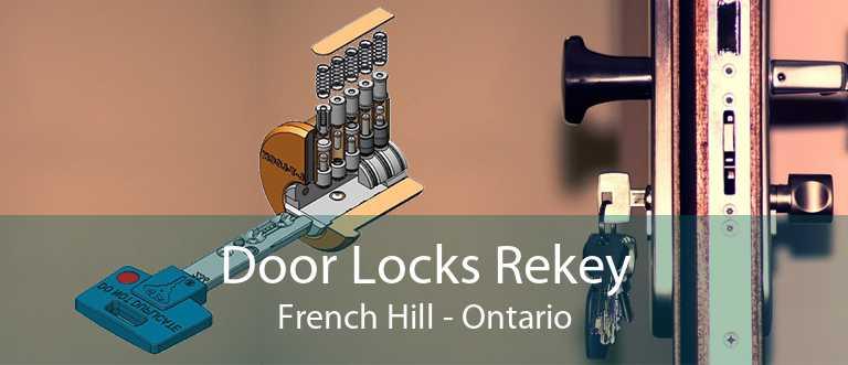 Door Locks Rekey French Hill - Ontario
