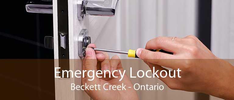 Emergency Lockout Beckett Creek - Ontario