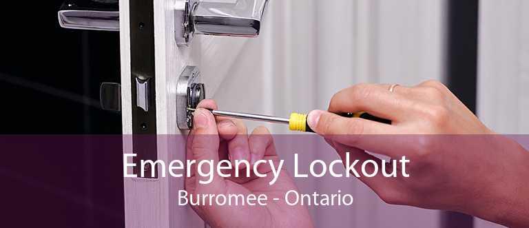 Emergency Lockout Burromee - Ontario