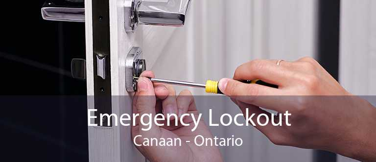 Emergency Lockout Canaan - Ontario