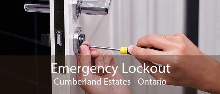 Emergency Lockout Cumberland Estates - Ontario