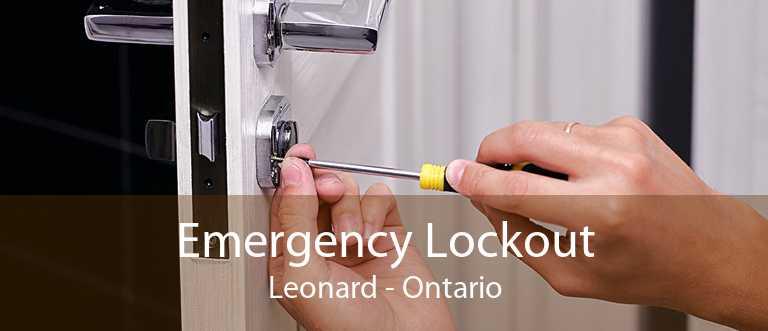 Emergency Lockout Leonard - Ontario
