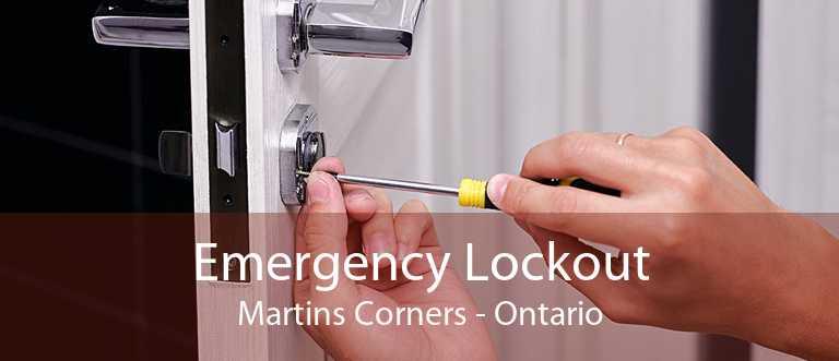 Emergency Lockout Martins Corners - Ontario