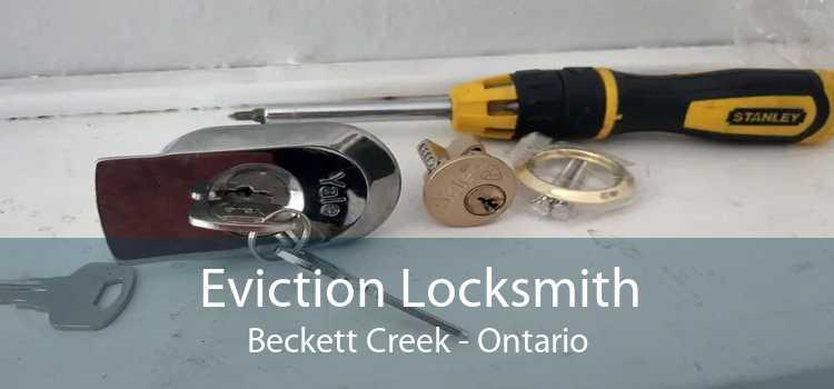 Eviction Locksmith Beckett Creek - Ontario