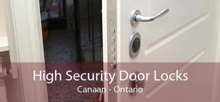 High Security Door Locks Canaan - Ontario