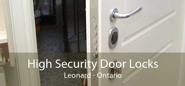 High Security Door Locks Leonard - Ontario