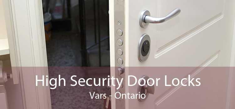 High Security Door Locks Vars - Ontario