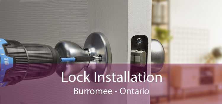 Lock Installation Burromee - Ontario