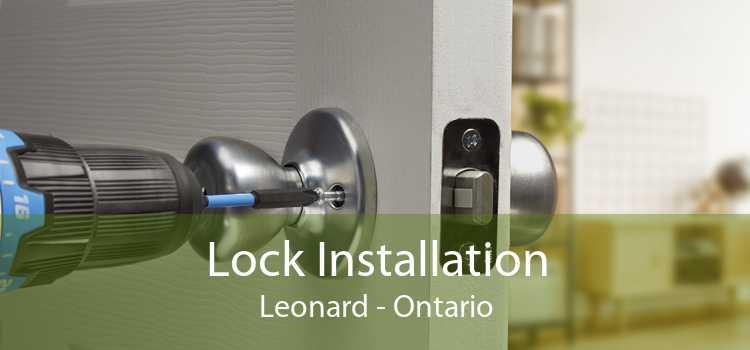 Lock Installation Leonard - Ontario