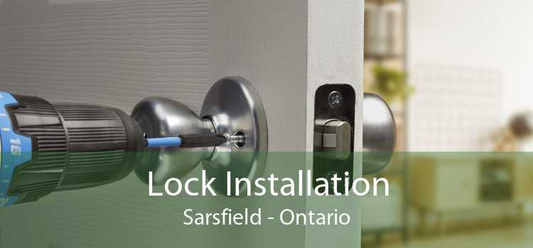 Lock Installation Sarsfield - Ontario