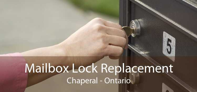 Mailbox Lock Replacement Chaperal - Ontario