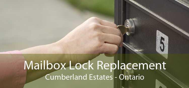 Mailbox Lock Replacement Cumberland Estates - Ontario
