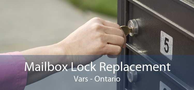 Mailbox Lock Replacement Vars - Ontario