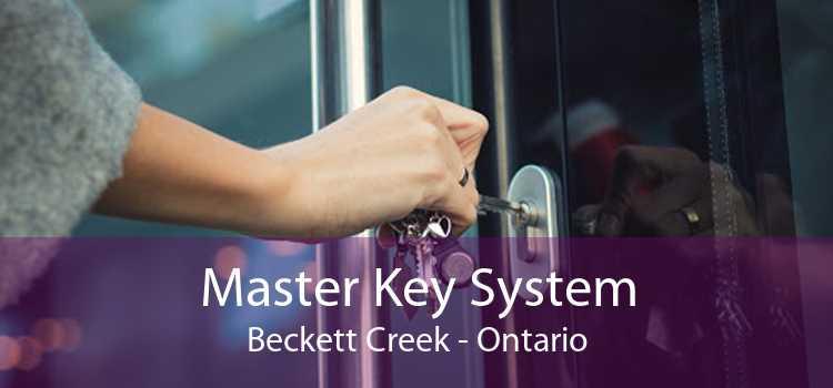 Master Key System Beckett Creek - Ontario