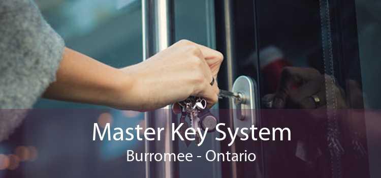 Master Key System Burromee - Ontario