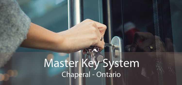 Master Key System Chaperal - Ontario