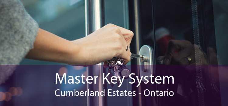 Master Key System Cumberland Estates - Ontario