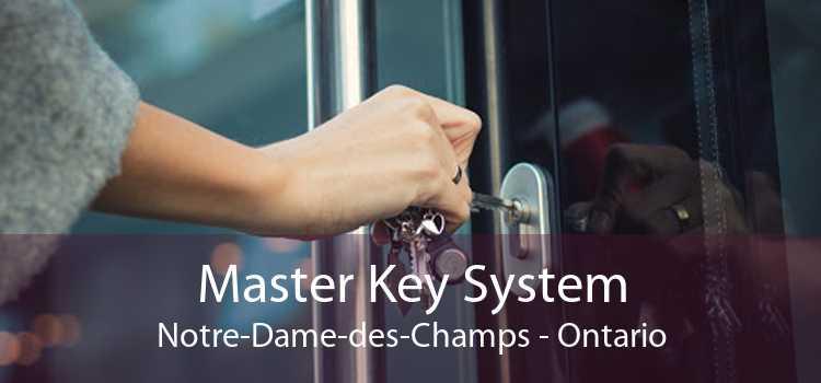 Master Key System Notre-Dame-des-Champs - Ontario