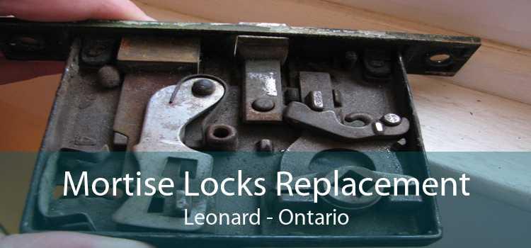 Mortise Locks Replacement Leonard - Ontario