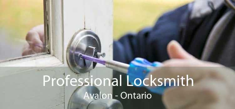 Professional Locksmith Avalon - Ontario