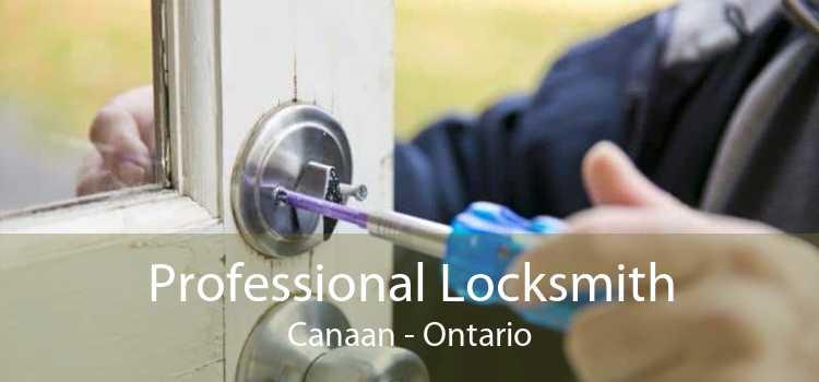 Professional Locksmith Canaan - Ontario