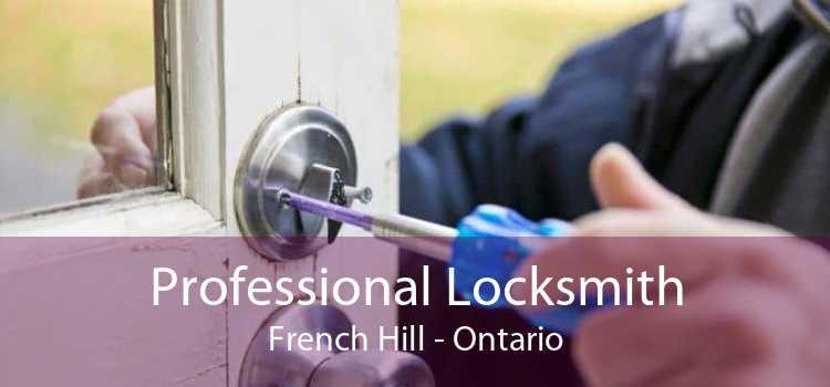 Professional Locksmith French Hill - Ontario