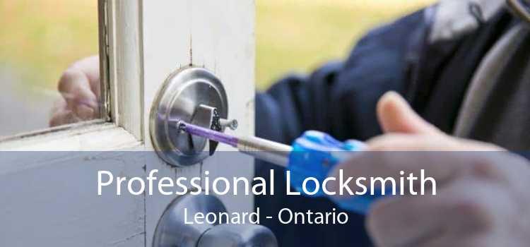 Professional Locksmith Leonard - Ontario