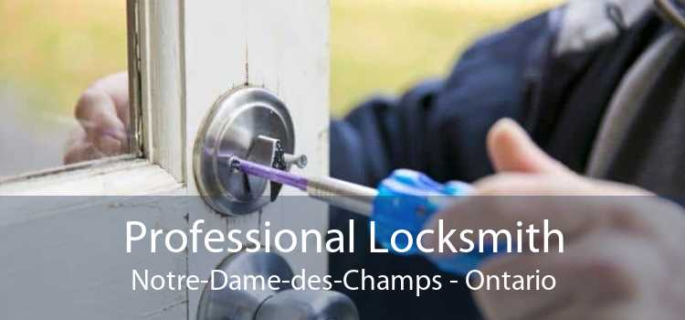 Professional Locksmith Notre-Dame-des-Champs - Ontario