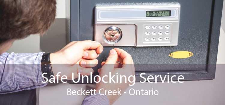 Safe Unlocking Service Beckett Creek - Ontario