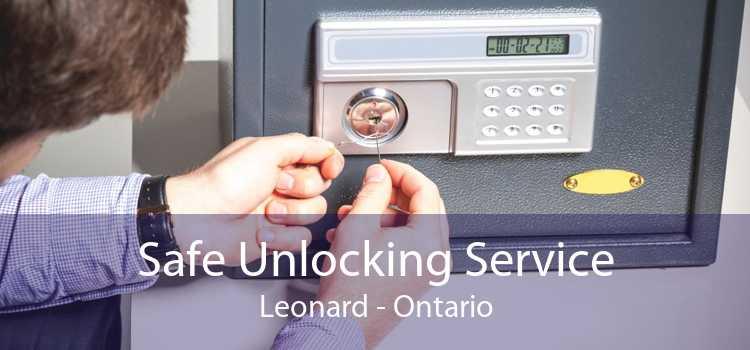 Safe Unlocking Service Leonard - Ontario